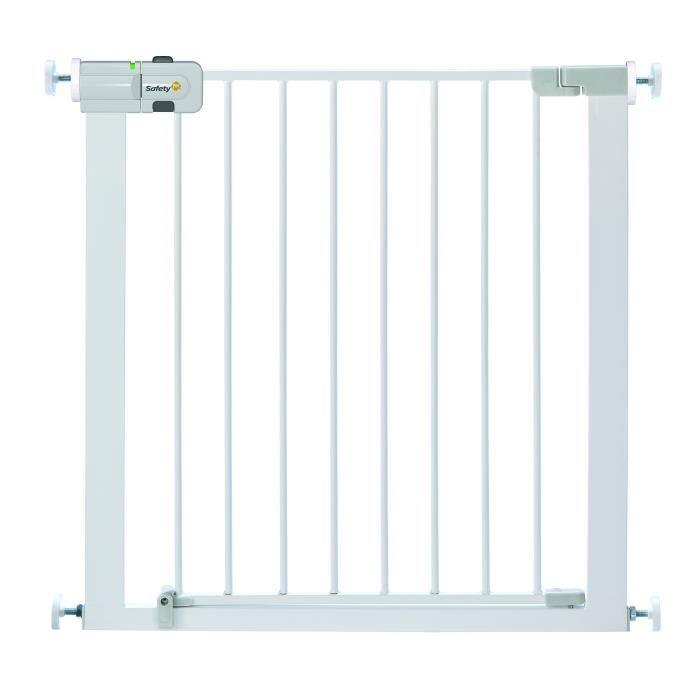 Safety 1st U-Pressure Barriere de Sécurité Easy Close Métal Blanc (porte, escalier.)