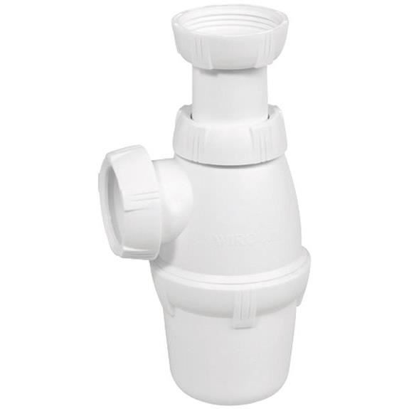 Siphon de lavabo réglable - entrée 1 1/4 - D: 32 mm