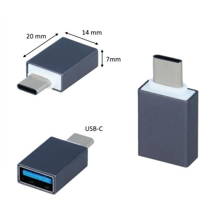 CHARGEUR TÉLÉPHONE Adaptateur OTG On The Go USB-C Pour SONY Xperia 5