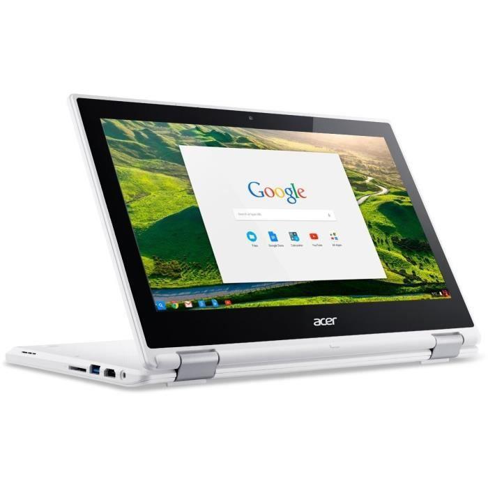 """ORDINATEUR PORTABLE ACER PC Portable Chromebook CB5-132T - 11,6 """" - 4G"""