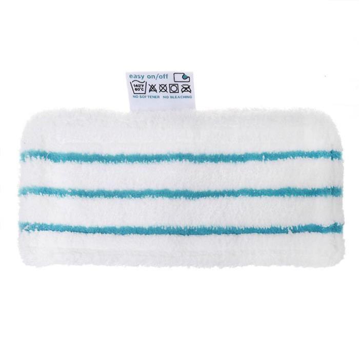 Spares2go Housse lavable Coussinets pour mousse 10/en 1/1500/W nettoyeur vapeur Balai lot de 2