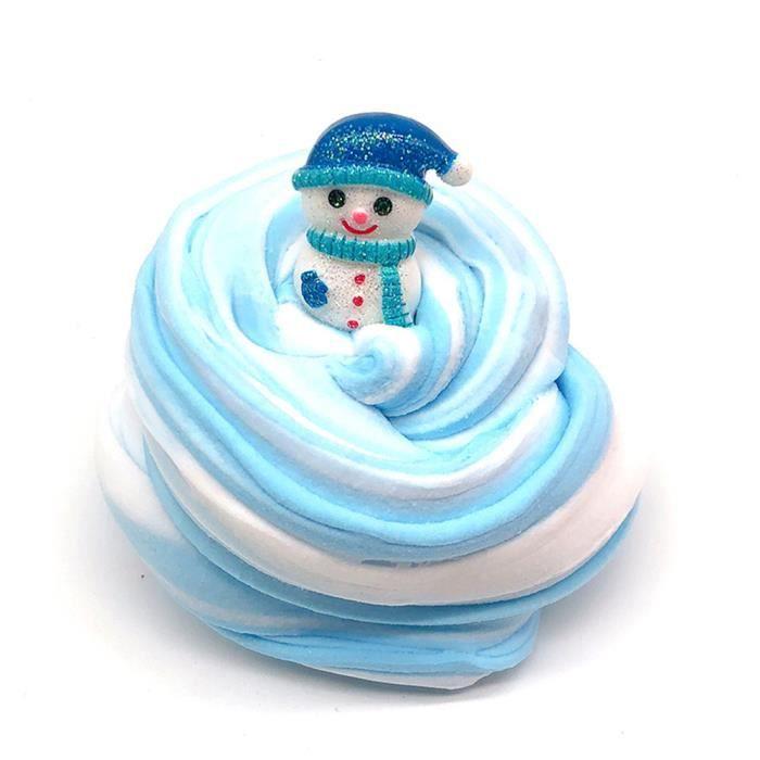 Noël Mousse Putty À faire soi-même Construire Votre Propre Bonhomme de Neige Kit