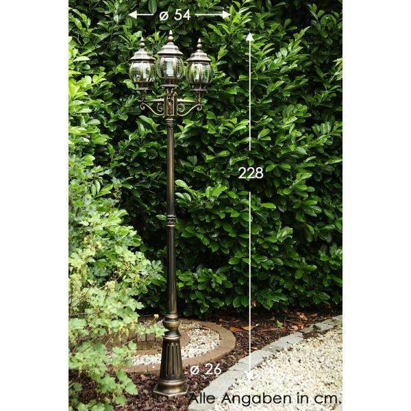 cand labre lampadaire ext rieur lampe de jardin achat vente cand labre lampadaire kobe. Black Bedroom Furniture Sets. Home Design Ideas