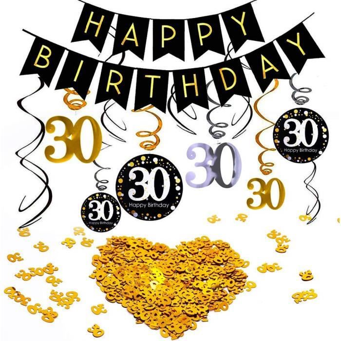 Personnalisé Cocktail 30th Anniversaire Bannière X 2 Décorations de Fête Adulte Tout Nom