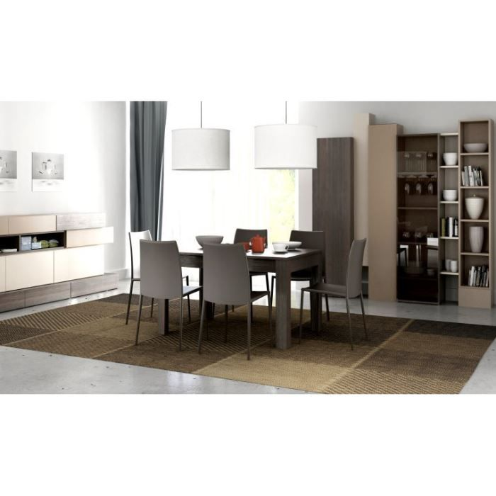 Table de salle manger design extensible hifi achat for Table de sejour design