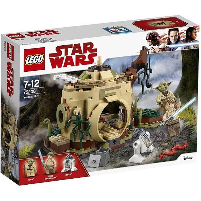 ASSEMBLAGE CONSTRUCTION LEGO® Star Wars™ 75208 La Hutte De Yoda