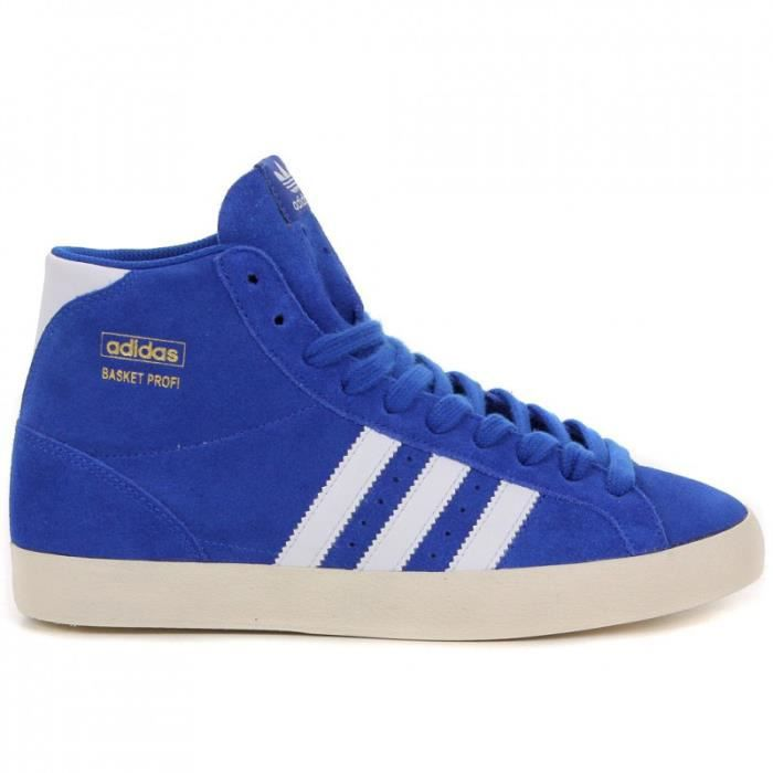 wholesale dealer 208ea 79909 Basket Adidas Basketball Profi Bleu