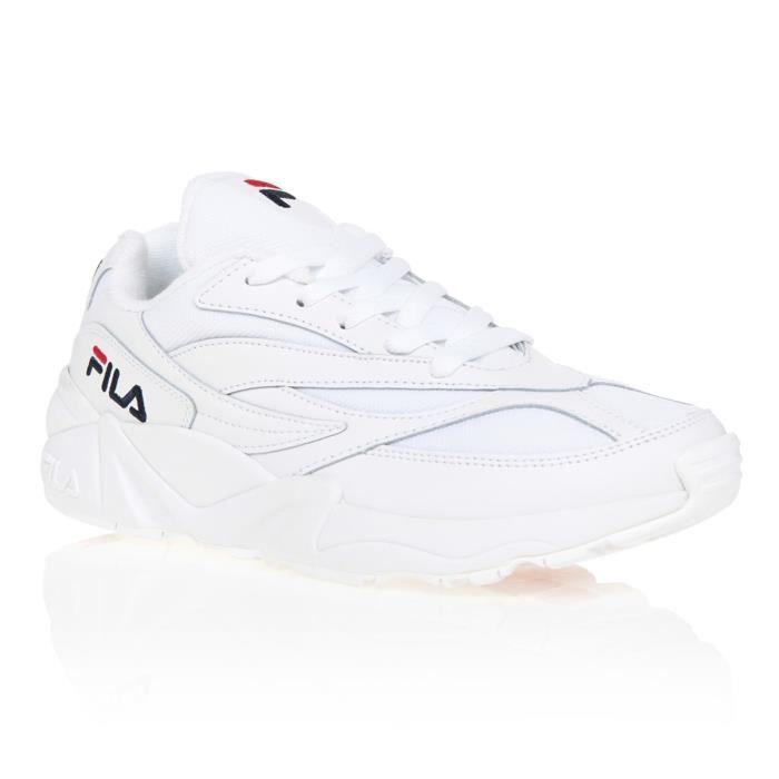 FILA Chaussures Femmes Basket ds sport Sneakers Fitness Gym Tennis Blanc Noir