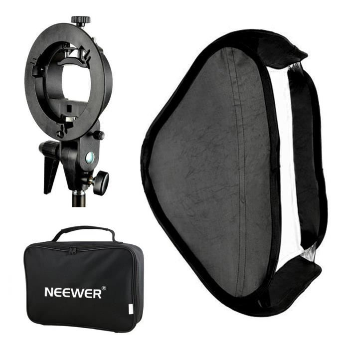 Neewer 32 pouces//80 centim/ètres Softbox Octagonal avec Support de S-Type et Sac de Transport pour Speedlight Studio Flash Monolight Photographie de Portrait et de Produit Avec Bowens Montage