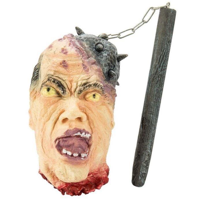 JARDINAGE - BROUETTE Homme mort pendu sanglant Tete mal Accessoire de d