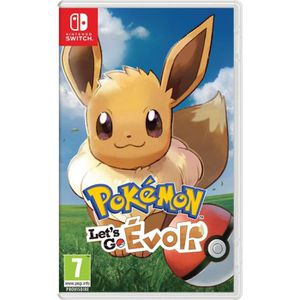 JEU NINTENDO SWITCH Pokémon : Let's go, Evoli Jeu Switch Pokemon Go