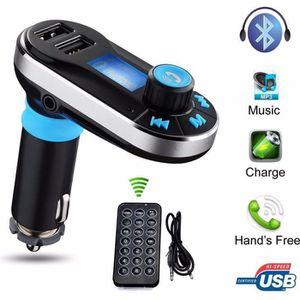 TRANSMETTEUR FM Transmetteur sans fil Bluetooth FM Lecteur de musi