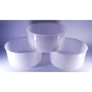 ASSORTIMENT VIN 3 x Moule à fromage 15x7.2cm - 1.2kg - Caciotta |