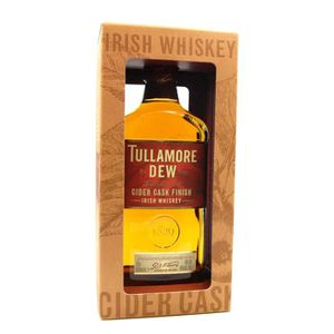 WHISKY BOURBON SCOTCH Whiskey Tullamore DEW Cider Cask Finished