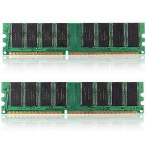 MÉMOIRE RAM SHAN NEUFU Lot de 2pcs 1 GO GB Mémoire RAM Carte D