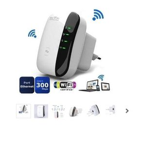 CLE WIFI - 3G 300M 802.11N Wireless-N Wifi Repeater 2.4G AP Rout
