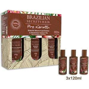 DÉFRISAGE - LISSAGE Kit lissage Brésilien Brazilian Secrets Hair Pro K