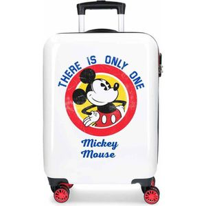 VALISE - BAGAGE Valise cabine 4 roues en ABS Mickey There is only