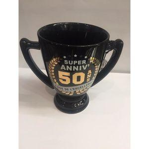 MUG - TASSE - MAZAGRAN Mug Ceramique 13 Cm Champion 50 Ans