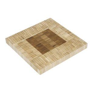 DESSOUS DE PLAT  Dessous de plat en bambou de forme carrée