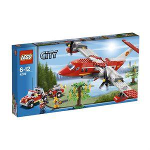 ASSEMBLAGE CONSTRUCTION LEGO City 4209 L'Avion Des Pompiers