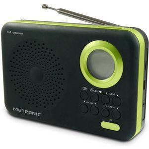 RADIO CD CASSETTE MET 477209 Radio FM MP3 Vert