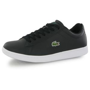 new styles 5e0bf d8dab BASKET Lacoste Carnaby Evo Lcr noir, baskets mode homme ...
