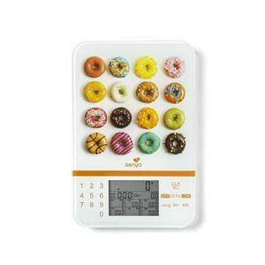 BALANCE ÉLECTRONIQUE SENYA SYCP-KS001 Balance de cuisine Smart Scale