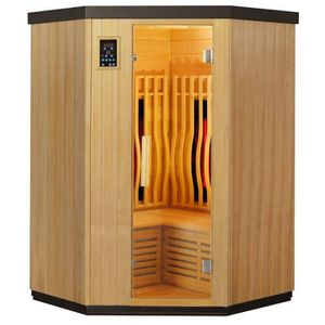 KIT SAUNA  SNÖ Sauna d'angle infrarouge full spectrum Vertica