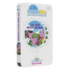 LIVRE INTERACTIF ENFANT MOONLITE Pack Histoire - Les Trois Petits Cochons