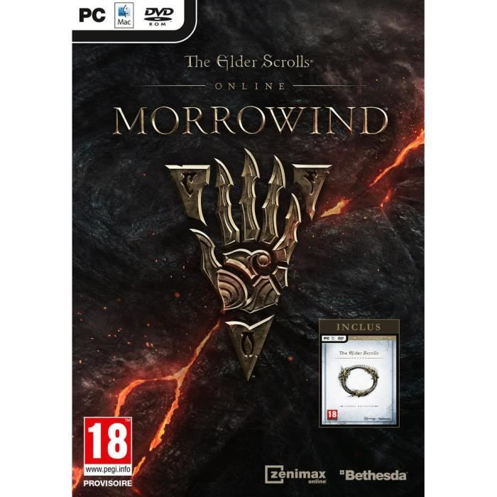 The Elder Scrolls Online: Morrowind Jeu PC