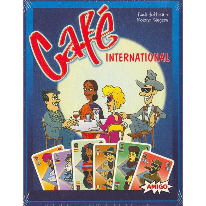 Cafe International Le Jeu de Cartes