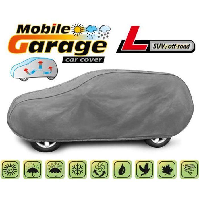 Bâche de protection Housse de protection voiture L pour Nissan Qashqai Imperméable Respirant
