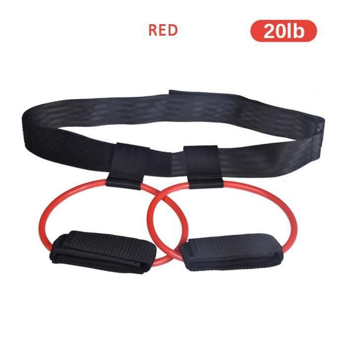 Bandes de résistance de corde de traction de forme physique Extracteur pratique d'appareil de bras extensible de Latex de 2 couleurs