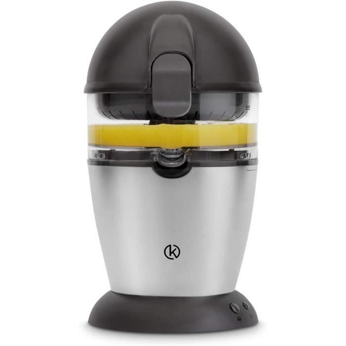 Presse-agrume Automatique 50W, Presse-agrumes électrique, Presse-orange, Capacité 400 ml, Gratis recette