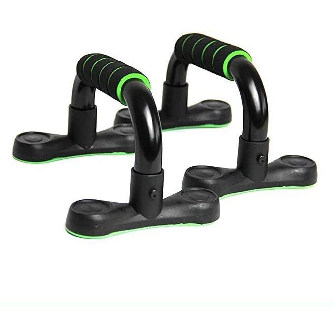 Push Up Bar Push-ups Stands Bars for Les Muscles thoraciques de Construction ou de l'équipement Gym Expander Bar , Couleur : Vert