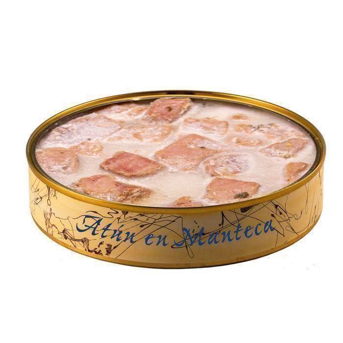 Thon au saindoux 280 g - Conserves de poisson El Ronqueo - Conserve de poisson gastronomi faite à la main à Barbate (Espagne)