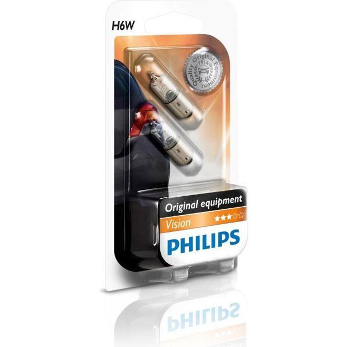 PHILIPS Ampoule Vision 2 H6W 12V