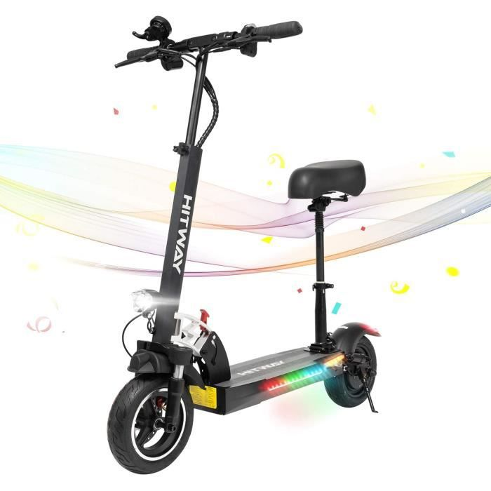 HITWAY eacutelectrique Scooter E Scooters 800W 45 kmh40 km Scooter eacutelectrique Pliable avec eacutecran LCD Ba274
