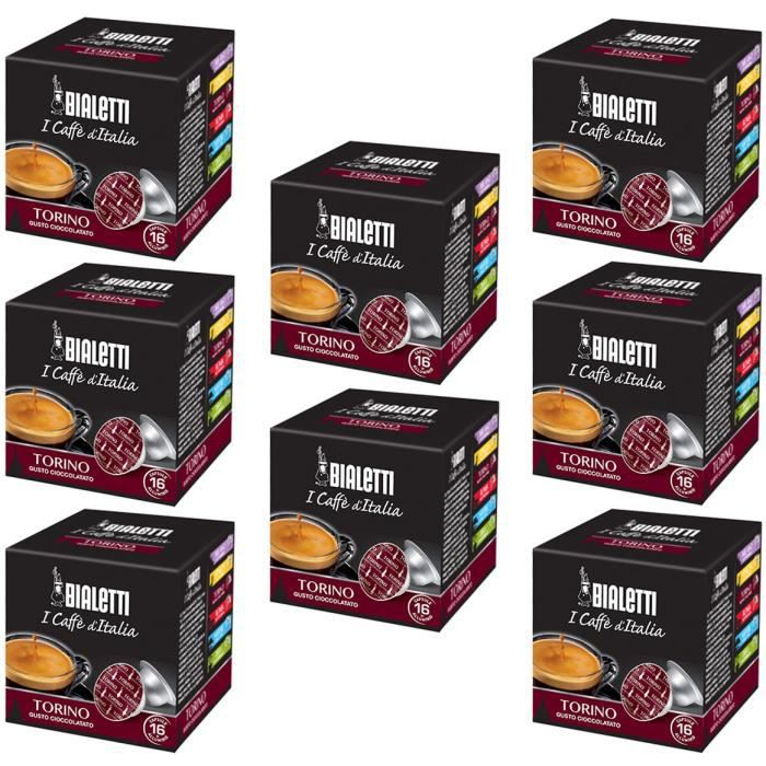 128 capsules de café Torino