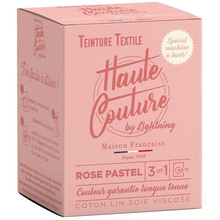 Teinture textile haute couture rose pastel 350g