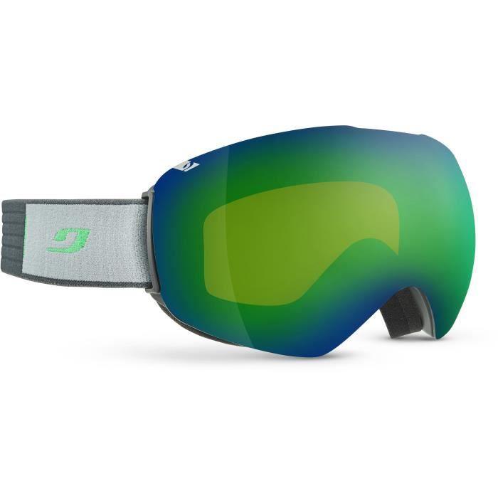 JULBO Masque de Ski Spacelab - Gris et Vert Cat3