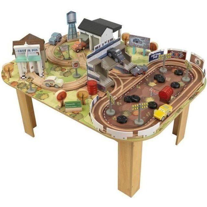 CARS 3 Table et Circuit Thomasville en Bois - Disney Pixar
