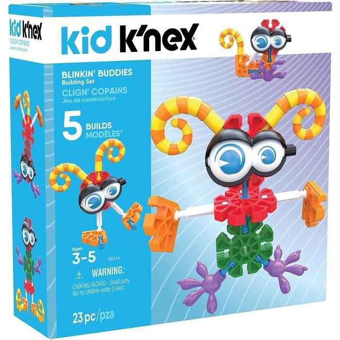 Jeu de construction Kid Knex : Clign' copains : 5 modèles Coloris Unique