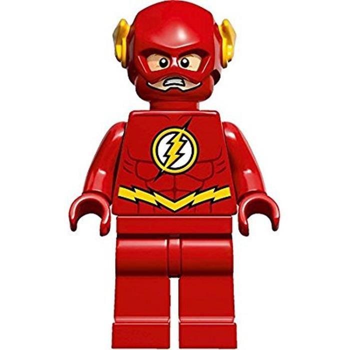 LEGO - Super Heroes La Flash MiniFigurine Jeux et Jouets Jeux de construction