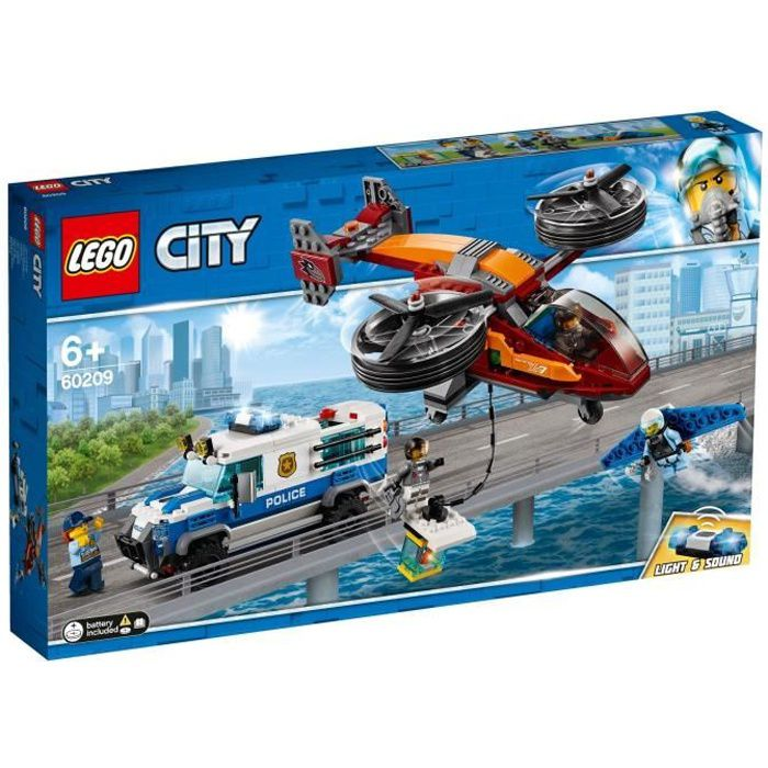 LEGO® City 60209 La police et le vol de diamant