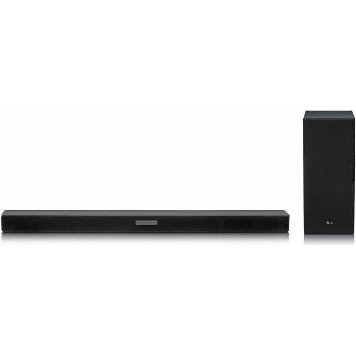 LG SK5 Barre de son - Bluetooth - Son haute résolution - DTS virtual X - 360 W - Noir