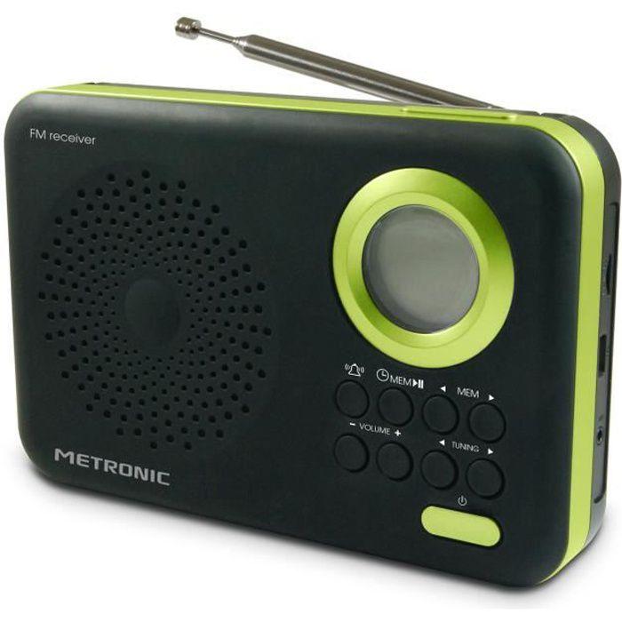 MET 477209 Radio FM MP3 Vert