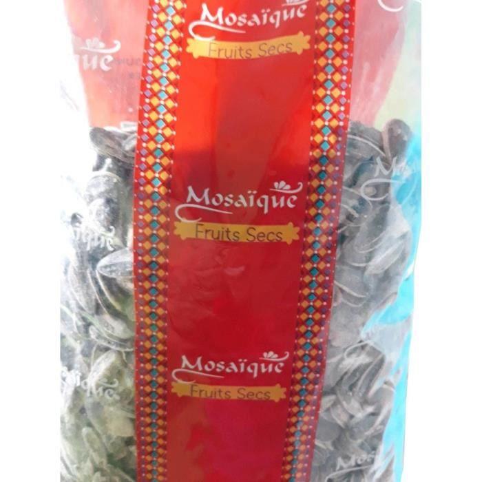 MOSAIQUE Graines de tournesol grillées à sec - 500 g