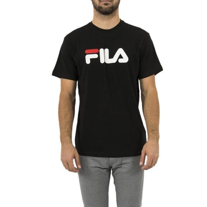 FILA T-Shirt Pure Homme Noir